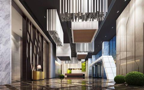 重庆精品酒店简欧风格装修效果图