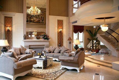 丰盈新园欧式风格别墅装修设计案例