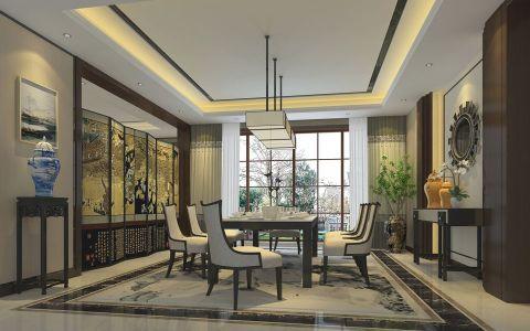 新中式风格豪华别墅装修案例设计