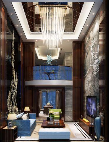 2020混搭150平米效果图 2020混搭别墅装饰设计