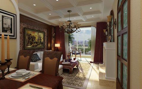 美式风格套房装修设计案例