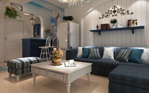 地中海风格清新婚房装修案例