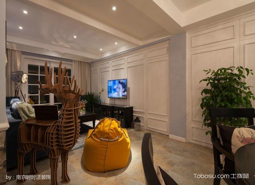 美式风格美满家居装修效果图