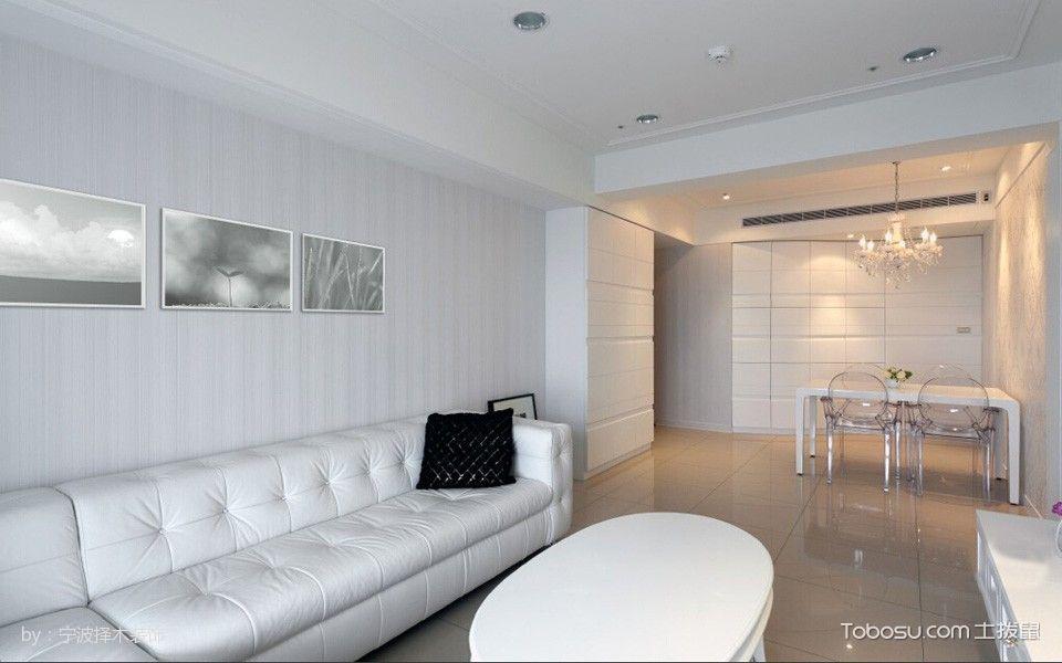 雍城世家温馨白色新古典风格装修案例
