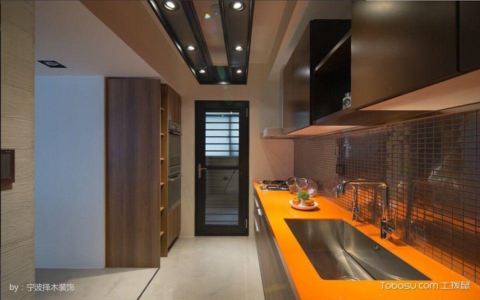 厨房吊顶混搭风格装修图片