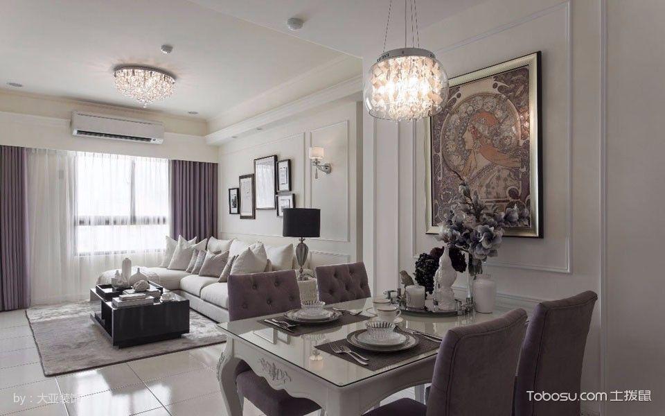 2019古典80平米设计图片 2019古典二居室装修设计