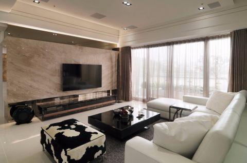 现代简约舒适四居室案例图