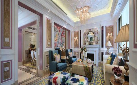 法式新古典大户型家居装修设计