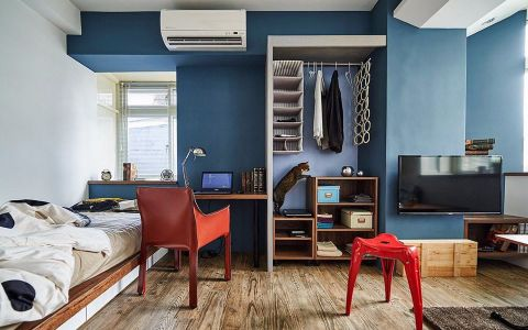 简约风格超小两居室设计案例