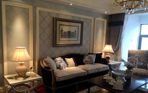 青林湾八期古典美式风三居室装修图片