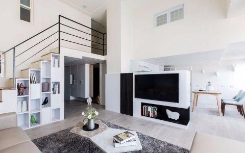现代简约两层别墅装修案例