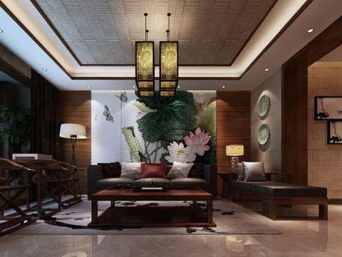 三代同堂中式风格四居室家装案例效果图