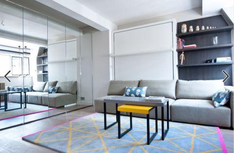 极致简约50平小户型完美家居设计