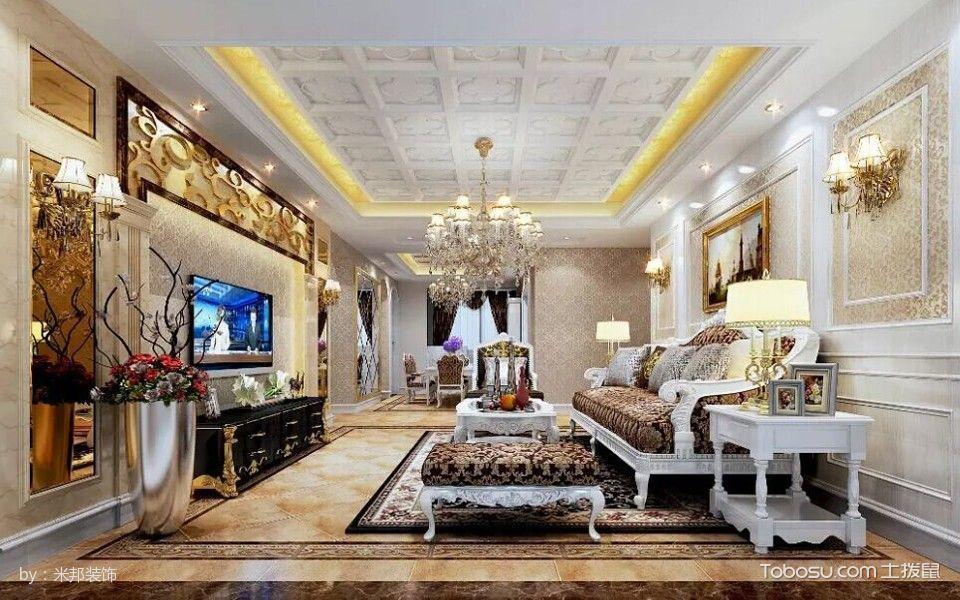 世贸香槟湖欧式豪华公寓装修设计