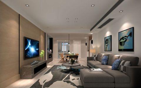 2019简约120平米装修效果图片 2019简约公寓装修设计