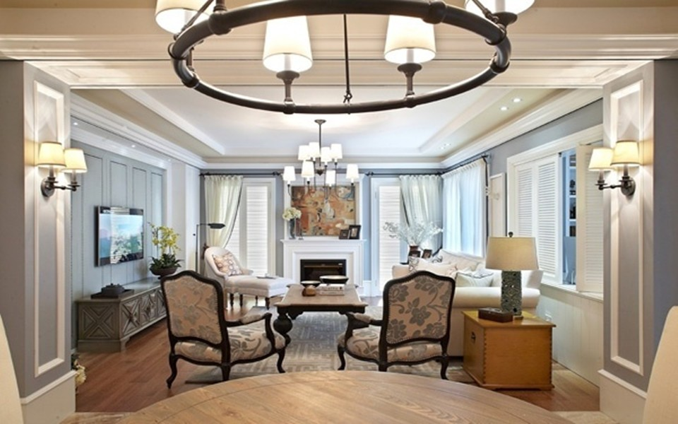 3室2卫2厅110平米美式风格