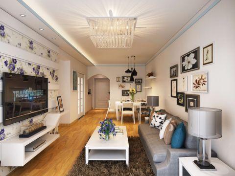 2021简约90平米效果图 2021简约二居室装修设计