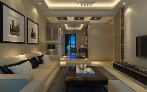 2020现代简约110平米装修图片 2020现代简约套房设计图片