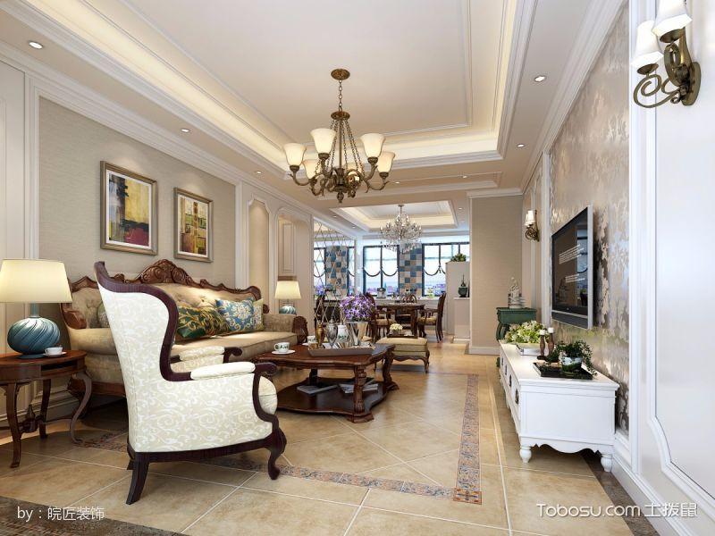 经典美式风四居室装修设计