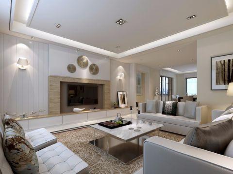 现代简约三居室风格舒适阁楼设计
