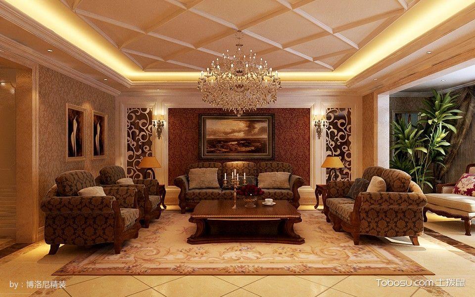 2020欧式客厅装修设计 2020欧式设计图片