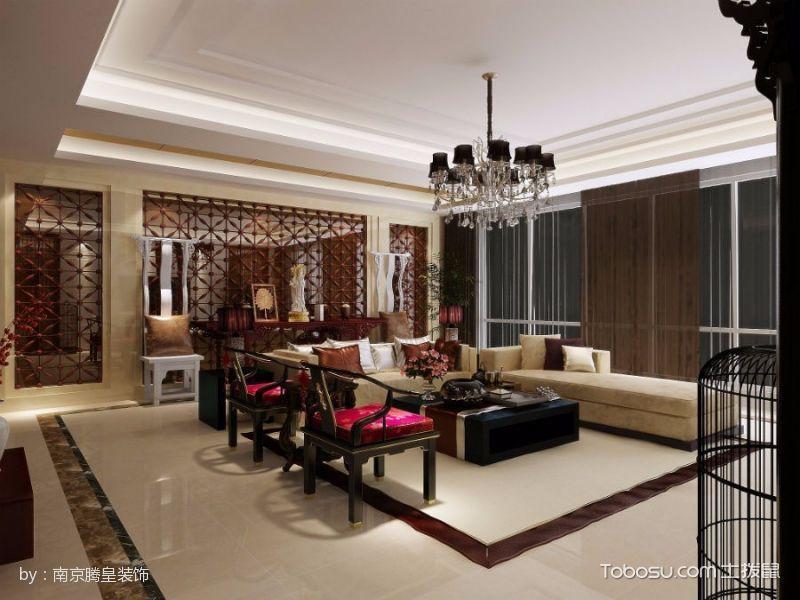中式风格搭配大户型设计案例