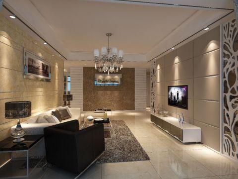 现代简约风格四居室装修设计