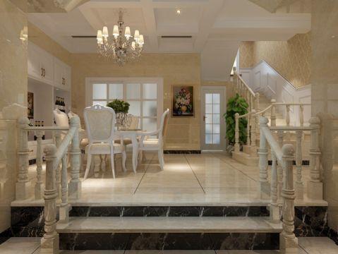 欧式风格排屋庭院设计案例