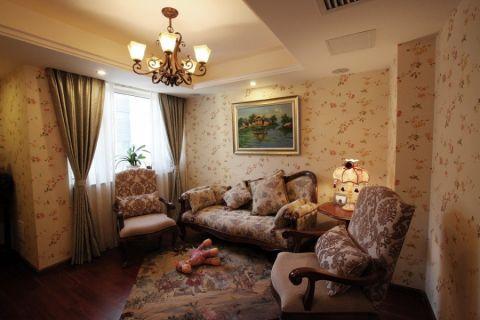 翠岭居美式风格家装别墅案例图