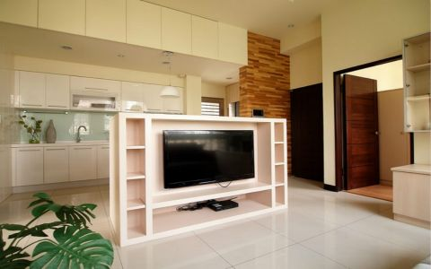 现代简单式两居室装修设计