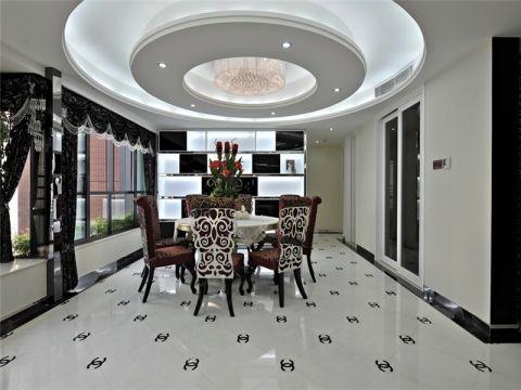 晋愉天意现代风格黑白两居室装修效果图