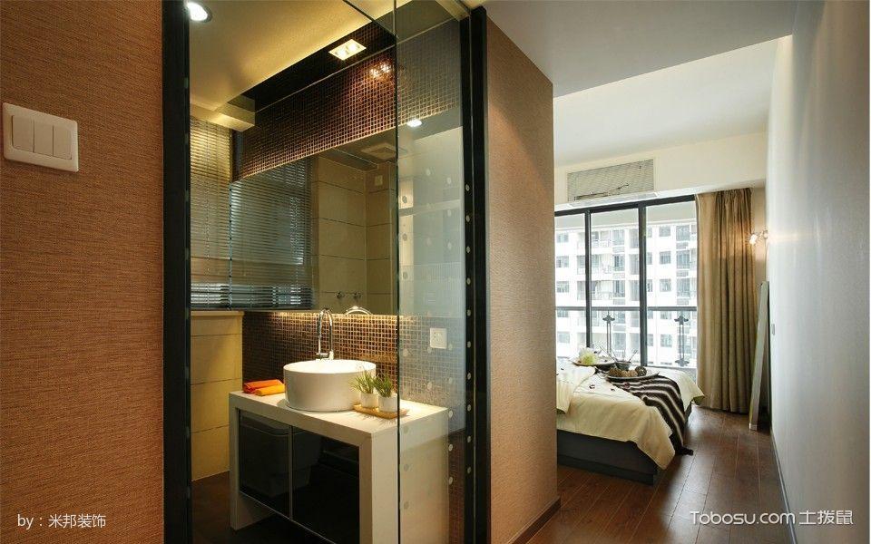 卧室走廊现代简约风格装修效果图