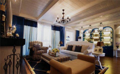 地中海四居室装修效果图