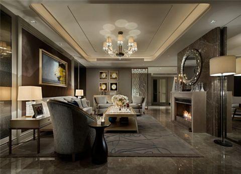 海亮九玺128平新古典风格三居室案例图