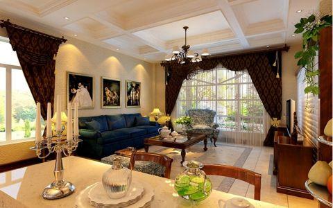 中海原山189平美式风格装修设计