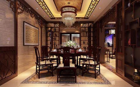 别墅中式风格设计效果图