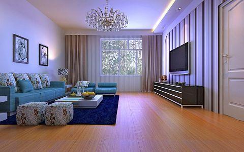 现代简约两居室设计案例