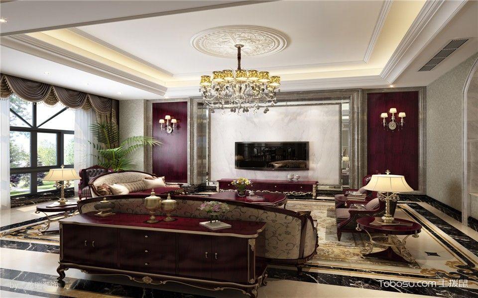 欧式风格别墅双方案设计