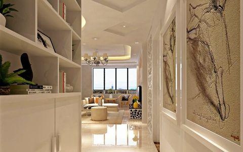 走廊现代简约风格效果图
