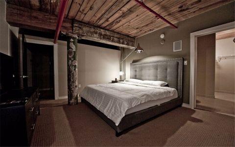 卧室吊顶后现代风格装饰设计图片