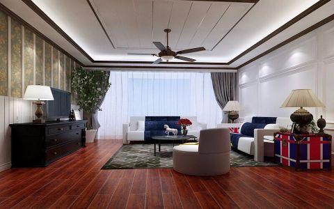 吉森漫桦林美式风格三居室装修设计图