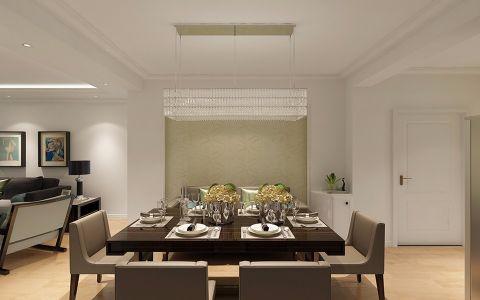 餐厅现代简约风格装饰效果图