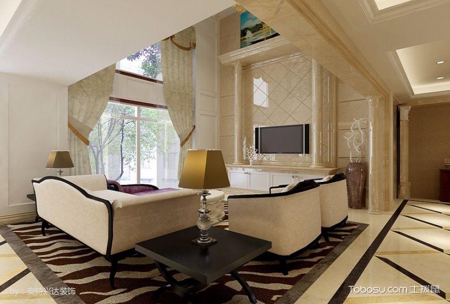 雅仕兰庭复式风格设计装修设计图片