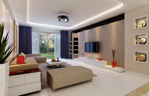 银杏公寓现代简约风格装修设计图片