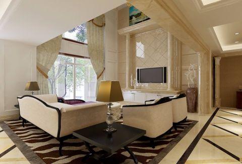 雅仕兰庭现代风格复式设计图