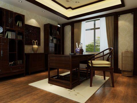 中式风格大户型豪华装修设计图
