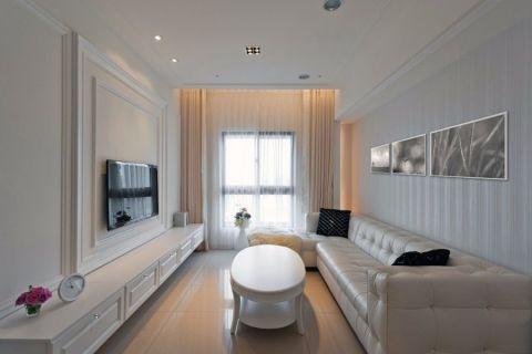 120平新古典风格二居室装修图片