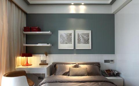 卧室现代简约风格装潢图片
