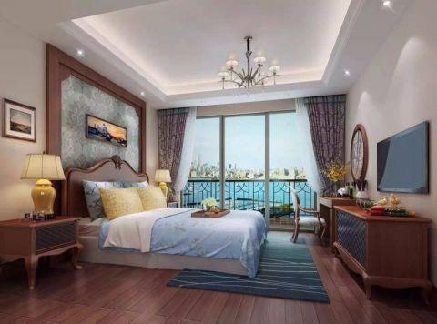 卧室现代欧式风格装饰设计图片