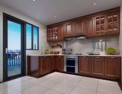 厨房现代欧式风格装潢设计图片